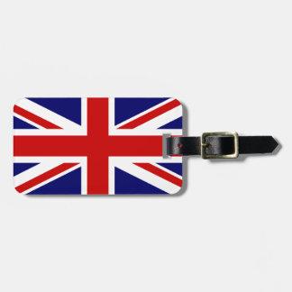 Union Jack Etiquetas Maletas