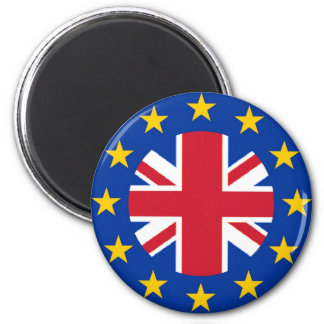 Union Jack - EU Flag Magnet