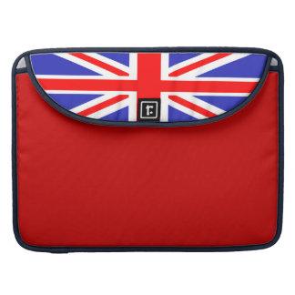 Union Jack Flag 15 Inch Sleeve For MacBooks