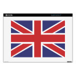 """Union Jack Flag 15"""" Laptop for Mac and PC Skin 15"""" Laptop Skin"""