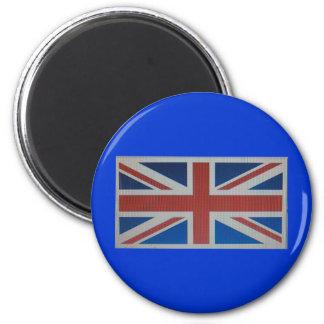 Union Jack Flag 2 Inch Round Magnet
