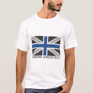 Union Jack Flag Adult Tee Shirt