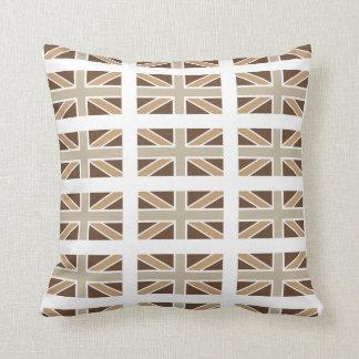 Union Jack Flag American Mojo Pillow/Cushion Throw Pillow