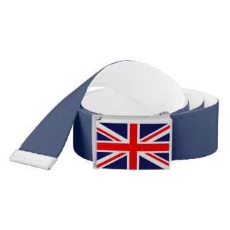 Union Jack Flag Belt