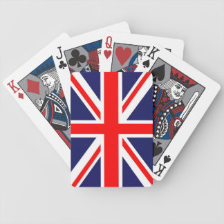 Union Jack flag Bicycle Playing Cards