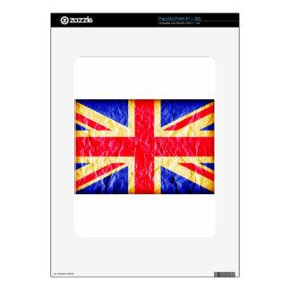 Union Jack, Flag, Blue, Nation Proud USA America S iPad Decal