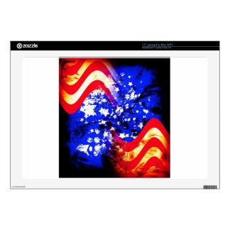 "Union Jack, Flag, Blue, Nation Proud USA America S Skin For 17"" Laptop"