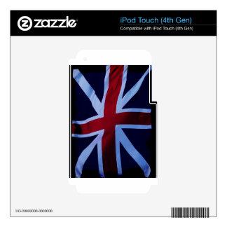 Union Jack, Flag, British, London iPod Touch 4G Skin