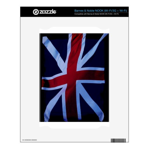 Union Jack, Flag, British, London Decal For The NOOK