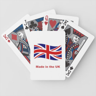 Union Jack Flag, British, made in the uk, fun Deck Of Cards
