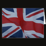 union jack flag card