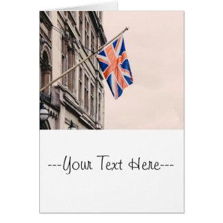 Union Jack Flag Card