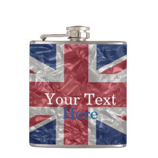 Union Jack Flag - Crinkled Flasks