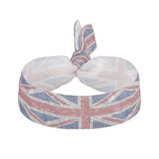 Union Jack Flag - Crinkled Hair Tie