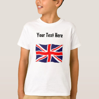 Union Jack Flag - Customizable With Your Text! T-Shirt