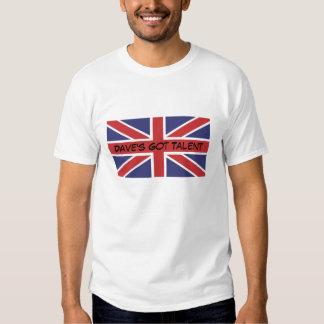 Union Jack Flag Dave's Got Talent T-Shirt