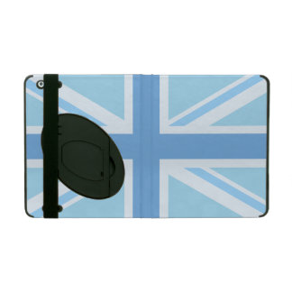 Union Jack/Flag Design Blues iPad Folio Cases