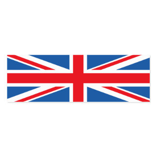 Union Jack/Flag Design Business Cards