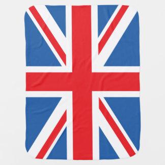 Union Jack/Flag Design Receiving Blanket