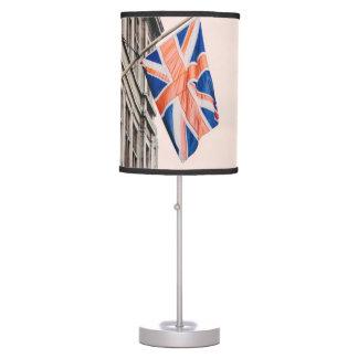Union Jack Flag Desk Lamp