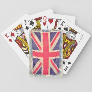 UNION JACK FLAG grunge Card Deck