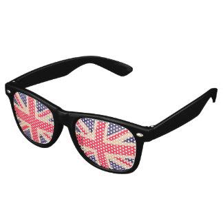 UNION JACK FLAG grunge + your idea Wayfarer Sunglasses