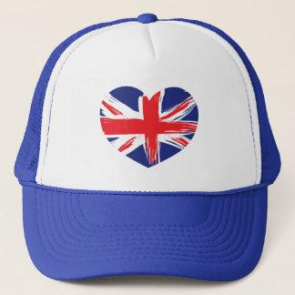 Union Jack Flag Hat/Cap Trucker Hat