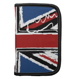 Union Jack Flag in Abstract Scribbles Planner