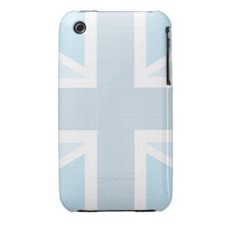 Union Jack Flag in Blue iPhone 3G/3GS Case-Mate iPhone 3 Case-Mate Case