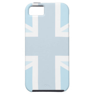 Union Jack Flag in Blue iPhone 5 Case-Mate Tough