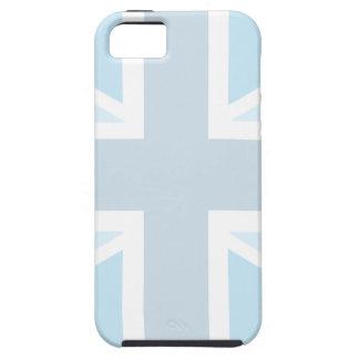 Union Jack Flag in Blue iPhone 5 Case-Mate Tough iPhone SE/5/5s Case