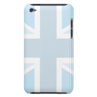 Union Jack Flag in Blue iPod Touch Barely There iPod Case-Mate Case