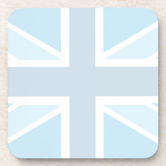 Union Jack Flag in Blue Set of 6 Coasters