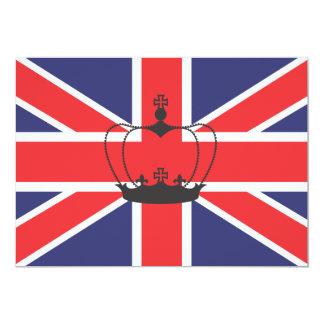 Union Jack Flag Invitation