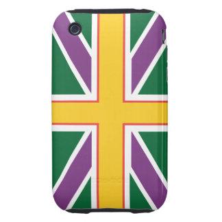 Union Jack Flag iPhone 3 Case-Mate Tough iPhone 3 Tough Cases