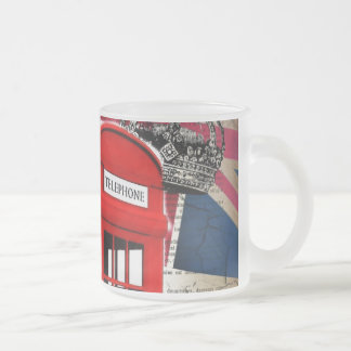 union jack flag jubilee crown red telephone booth frosted glass coffee mug