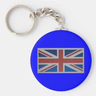 Union Jack Flag Key Chain