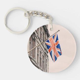 Union Jack Flag Keychain