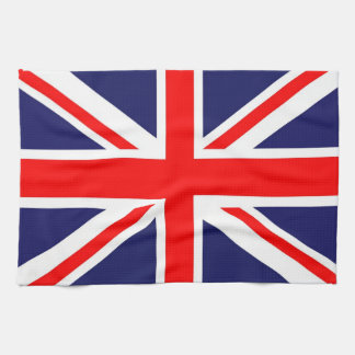 Union Jack flag Hand Towels
