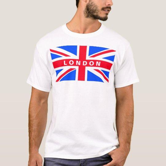 Union Jack Flag London T-Shirt