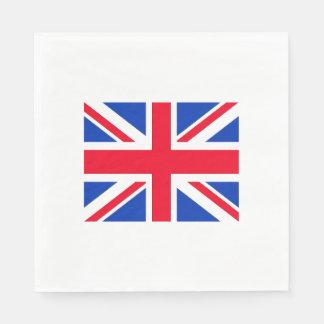 Union Jack Flag London Theme Party Paper Napkins
