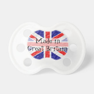 Union Jack Flag Made In Great Britain Pacifier