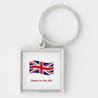 Union jack flag made in the uk fun keychain