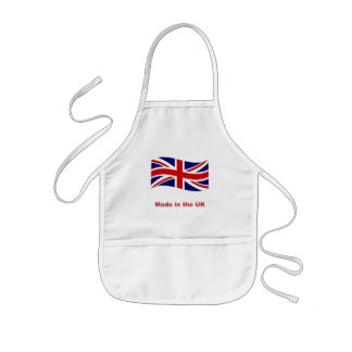 Union jack flag made in the uk kids apron