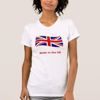 Union Jack Flag made in the UK tee shirt singlet
