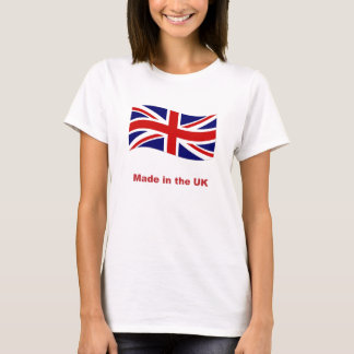 Union Jack Flag made in the UK tee shirt / t-shirt