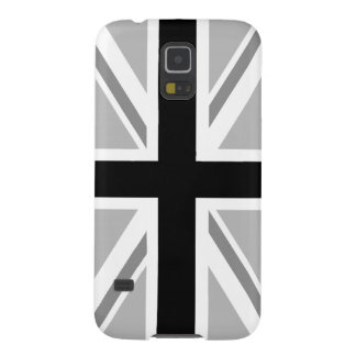 Union Jack/Flag Monochrome Galaxy S5 Case