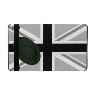 Union Jack/Flag Monochrome iPad Folio Case