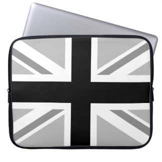 Union Jack/Flag Monochrome Laptop Sleeve