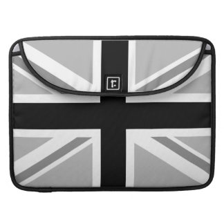 Union Jack/Flag Monochrome MacBook Pro Sleeve